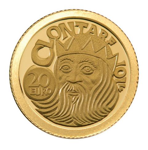 Winning design 2014 Battle of Clontarf Coin.