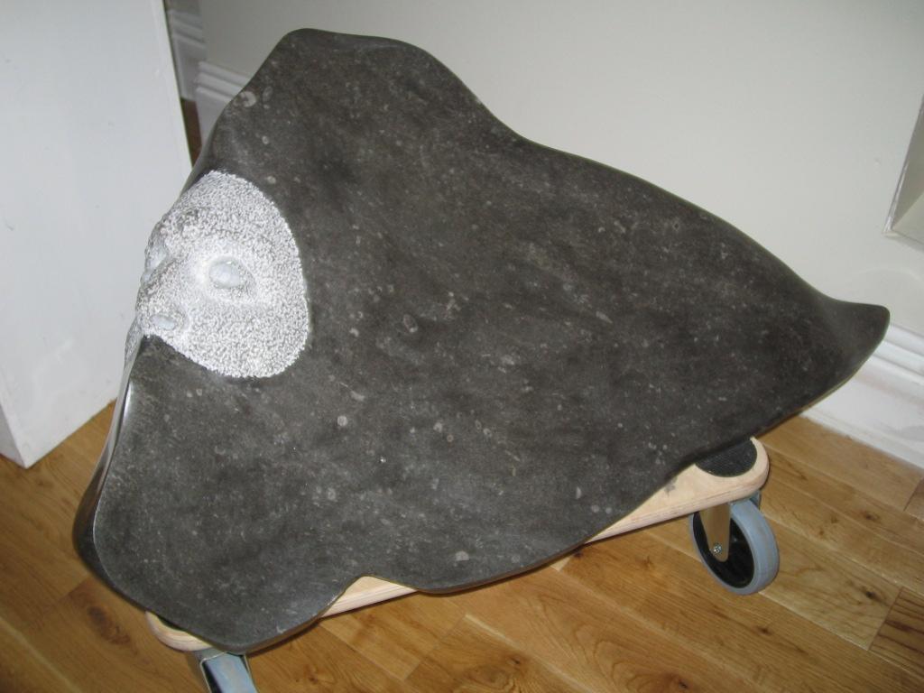 Manan Mac Lir. Limestone. Inspired by the Irish Sagas.