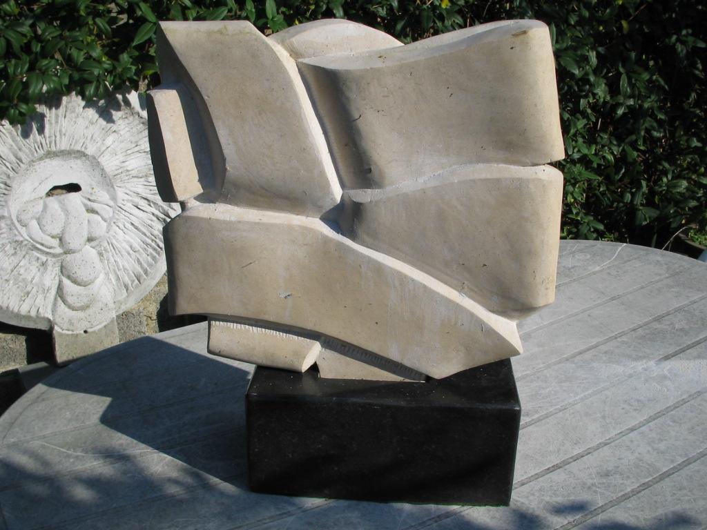 Celtic Strapwork - 1-3: Carved in Portugese limestone, in Dublin. Based on Celtic interlacing.